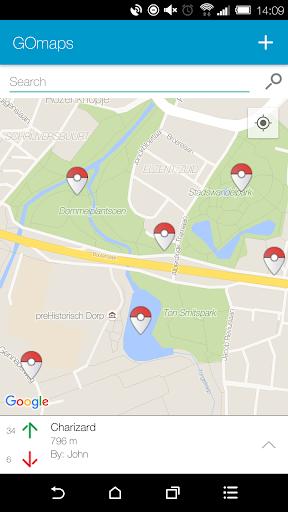 免費下載社交APP|Map for Pokemon GO - GOMaps app開箱文|APP開箱王