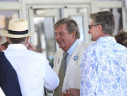 Businessman Johann Rupert at the L'Ormarins Queen's Plate at Kenilworth Racecourse on January 9 2016.