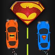 2 Cars - Superman VS Batman