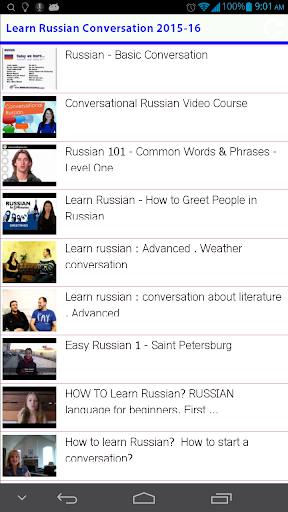 Learn Russian Conversation