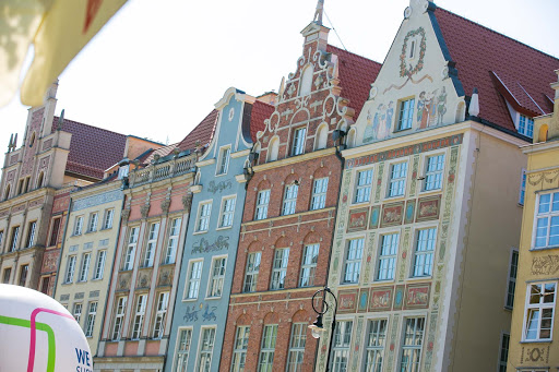 Some of the beautiful architecture in Old Gdansk, Poland.