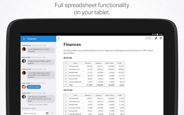 Quip: Docs, Chat, Spreadsheets- screenshot