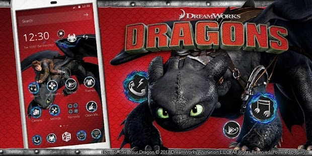 How to Train Your Dragon Toothless Launcher - náhled