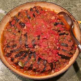 Momma Anita's Armenian Eggplant and Spiced Beef Casserole (Batlijanov Tava).