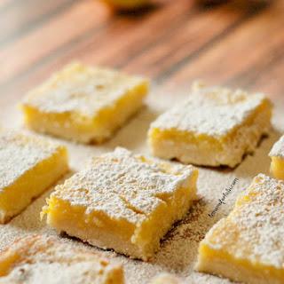 Honey Ginger Lemon Bars