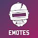 Emotes Viewer for PUBG (Emotes, Dances and Skins)
