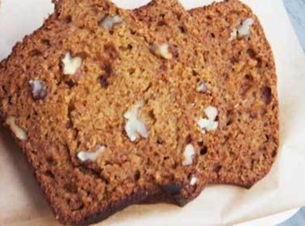 Maple Pumpkin Tea Loaf Recipe