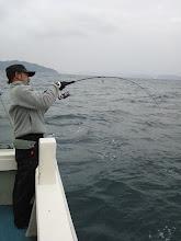 Photo: ヨシダさん連チャン! よく引いてます!