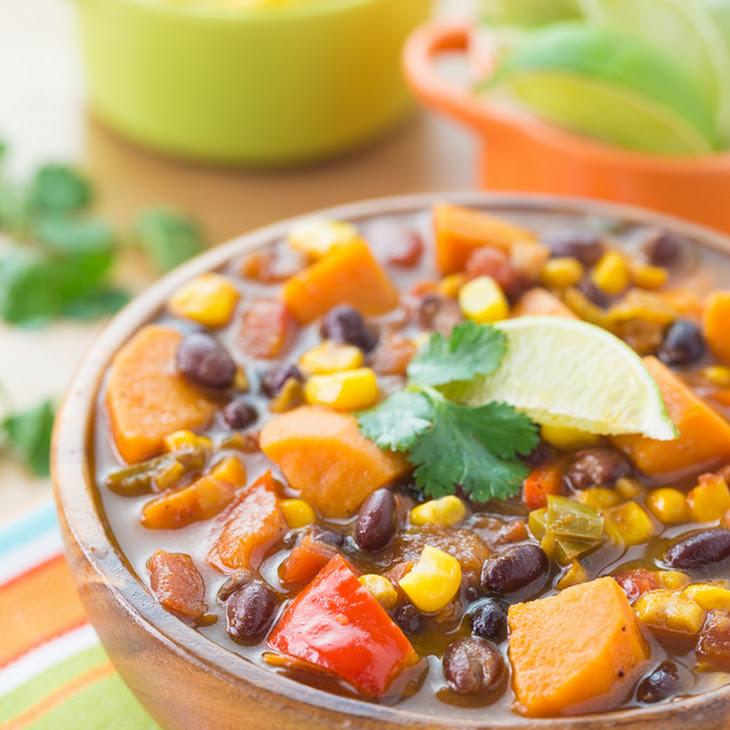 Sweet Potato and Black Bean Soup Recipe | Yummly