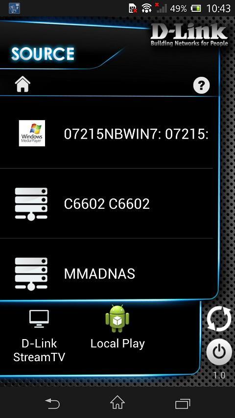 Скриншот D-Link SmartPlay