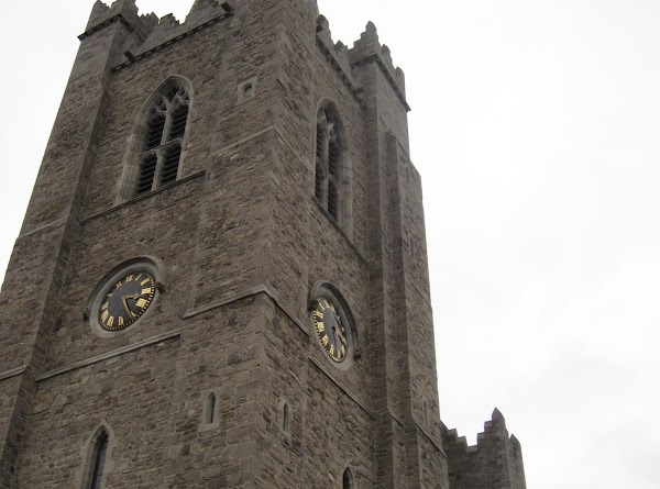 St Patrick's Cathedral clock tower