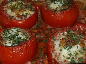 Baked Stuffed Tomatoes