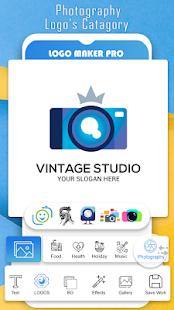 Logo Maker Pro - Free Graphic Design & 3D Logos Screenshot
