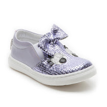 Step2wo Smile Bow - Metallic Slip On SLIP ON