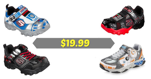 Sears: $19.99 Sketchers Boy's.