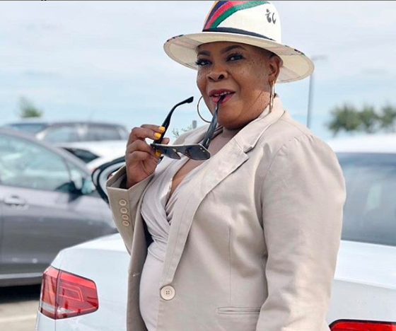 Actress Linda Sebezo encourages her fans not to take life for granted.