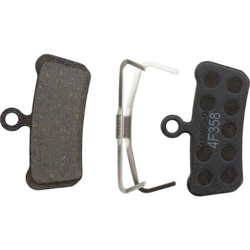 SRAM Organic Guide and Avid Trail Disc Brake Pads Steel Backed