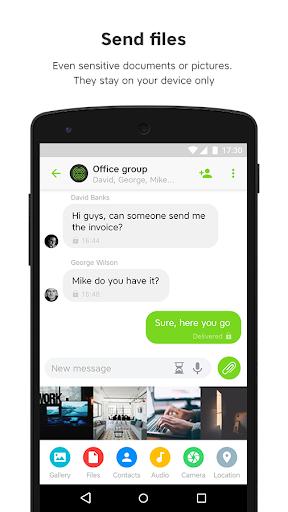 UseCrypt Messenger screenshot