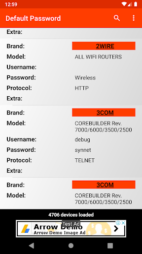 router default password - admin tool 🔑 screenshot 1