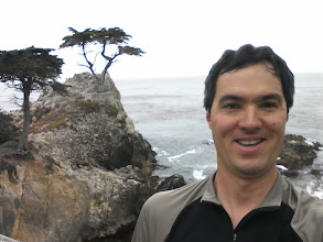 Photo: Lone Cypress! And a terrible self-snap