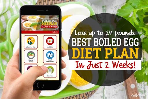 Best Boiled Egg Diet Plan 1.3 screenshots 1