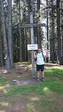 Photo: at the top ~ rohnberg 1257m (omg, 8 meters lower than before or is schliersberg-rohnberg a double top?) ~ http://jarogruber.blogspot.de/2016/05/schliersee.html