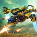 Robot Destroyer: Red Siren - Side Scroller game icon
