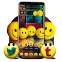 Smiley Emoji Launcher Theme icon