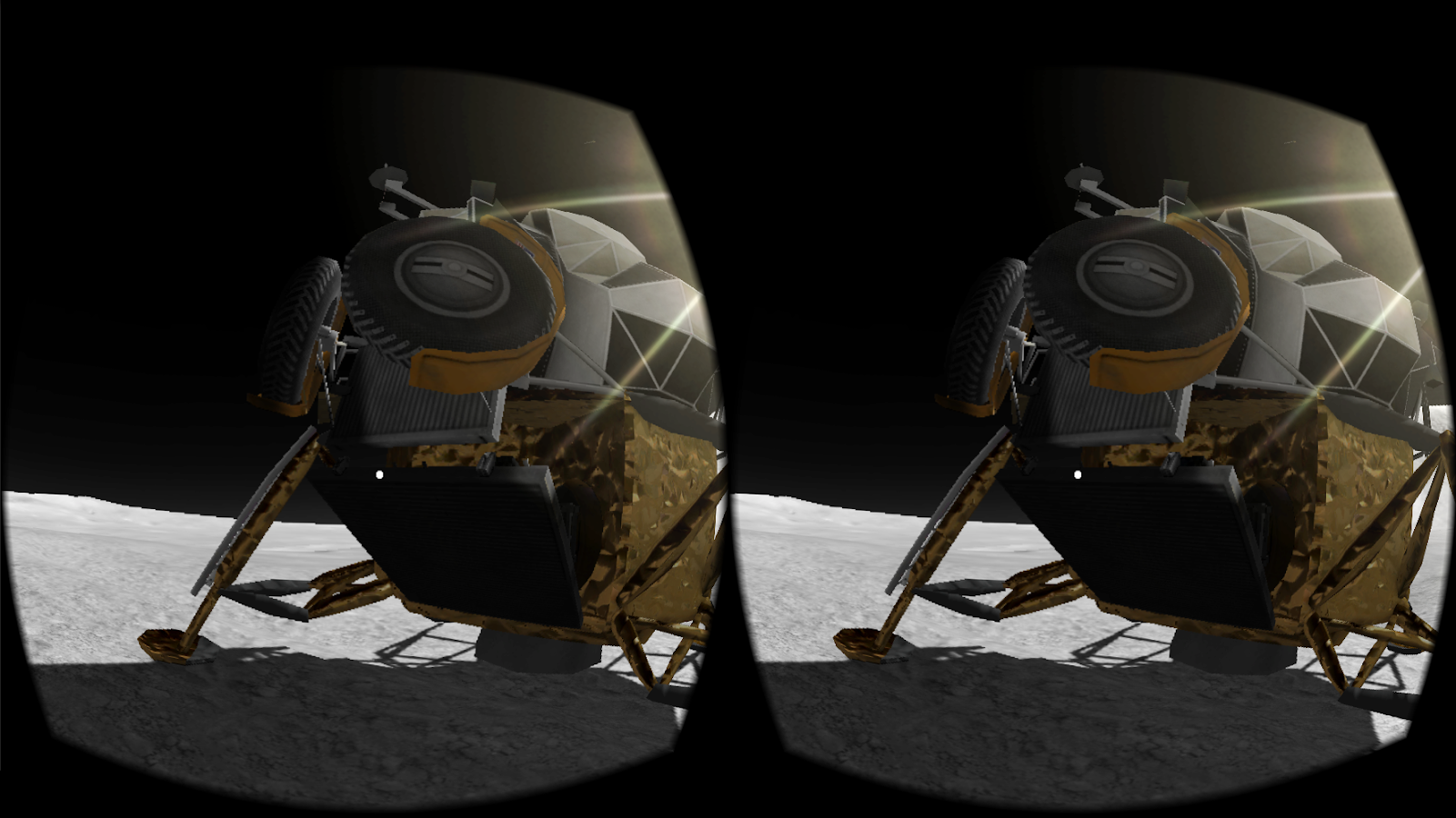 Apollo 15 Moon Landing VR- screenshot