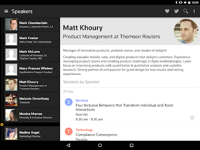 Thomson Reuters Convene- screenshot thumbnail