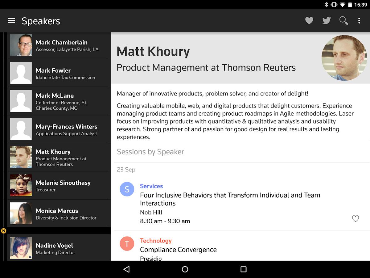 Thomson Reuters Convene- screenshot