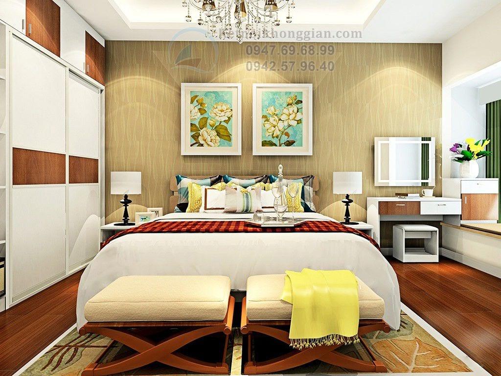thiết kế phòng ngủ nhã nhặn