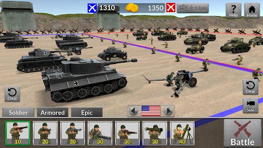 WW2 Battle Simulator MOD (Unlimited Money) 2