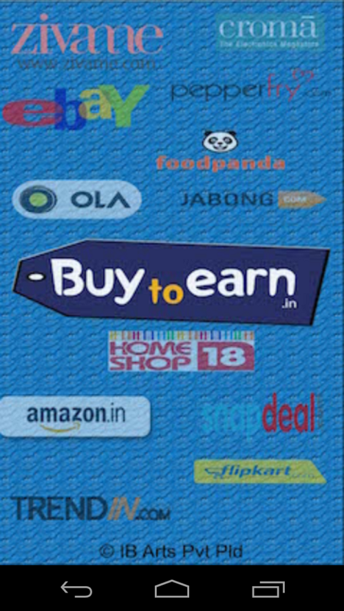 BuyToEarn : Deals and Coupons- screenshot