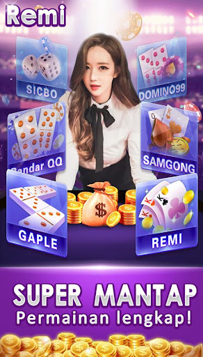 remi joker poker capsa susun Domino qq gaple pulsa 1.4.3 Screenshots 3