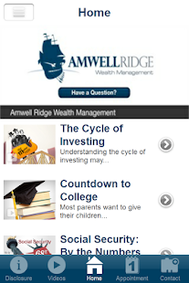 Amwell Ridge Wealth Management- screenshot thumbnail