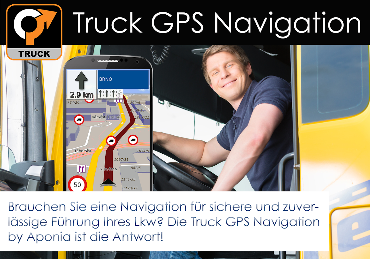 truck gps navigation android apps auf google play. Black Bedroom Furniture Sets. Home Design Ideas
