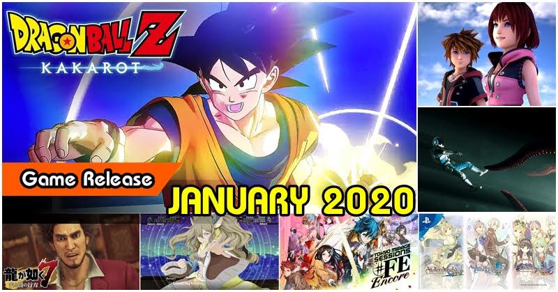 Game Release January 2020 เกมน่าโดนเดือนมกราคม