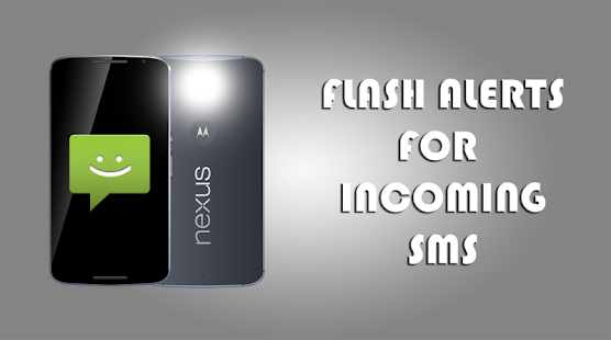 Flash on incoming call - náhled