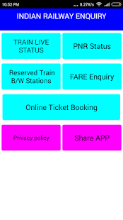 IRCTC Railway Enquiry & Ticket Booking - náhled