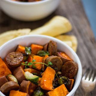 Winter Vegetable Bowl with Apple Sage Sausage Recipe