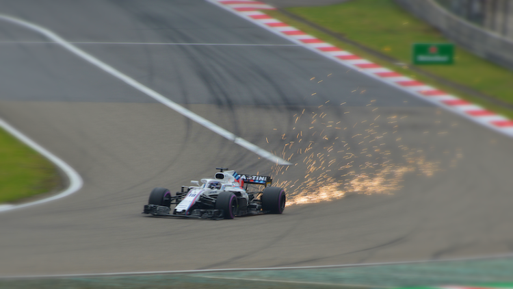 Lance Stroll during qualifying for the 2018 Chinese Grand Prix
