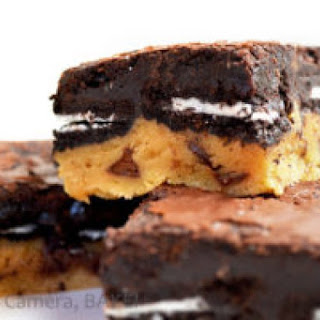Ultimate Chocolate Chip Oreo Brownies.