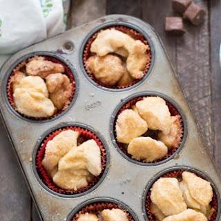 Caramel Apple Monkey Bread Muffins.