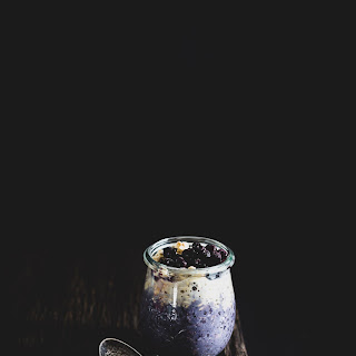 Blueberry Coconut Overnight Oats