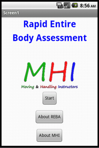 Rapid Entire Body Assessment