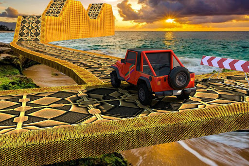 Offroad Jeep Driving Simulator : Impossible tracks screenshot 4