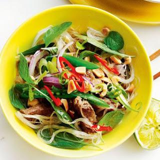 Sichuan Beef Noodle Salad.