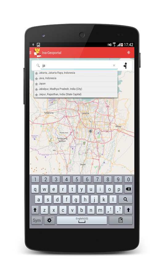 Geospasial Indonesia- screenshot