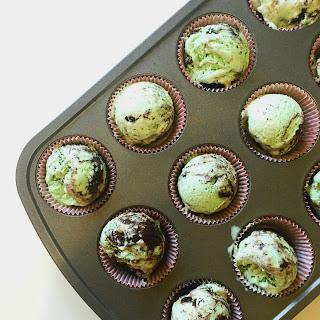 Mint Oreo Ice Cream Cupcakes